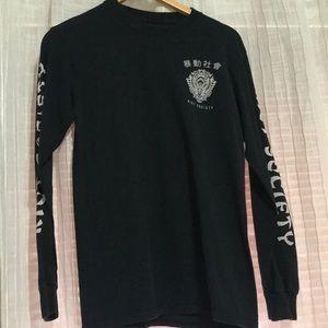 Black Riot Society long sleeve shirt